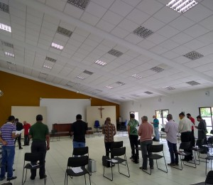 Clero diocesano retornou as reuniões presenciais nesta terça (15)