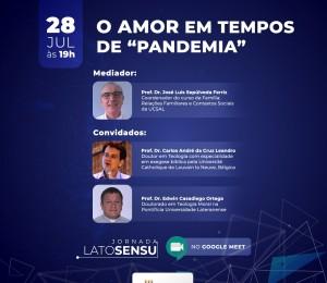 Pe.Edwin Casadiego participa hoje (28/07) da Jornada Lato Sensu da UCSAL