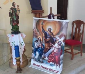 Novena em honra a São José está acontecendo na Paróquia São João Batista, em Ilha de São João