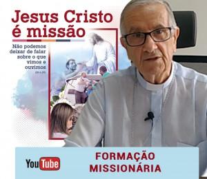 Mês de setembro será de preparação para o mês missionário, além dos encontros nas paróquias, semanalmente haverá formação em video com Dom Petrini