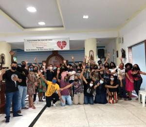 Jovens da Paróquia Santo Antônio de Santana Galvão participam de encontro em preparação ao Vinde e Vede