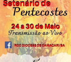Renovação Carismática promove setenário de pentecostes online