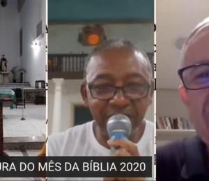 Live marcou a abertura do mês da Bíblia na Paróquia São Gonçalo nesta segunda-feira (07/09)
