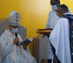 Posse do novo pároco da Paróquia São Sebastião aconteceu no sábado (13)
