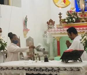 Festa do Sagrado Coração foi celebrada em Nazaré de Jacuipe