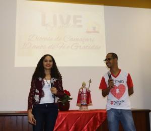 Live da gratidão celebra os dez anos da Diocese de Camaçari com internautas  e dizimistas
