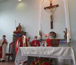 Concluiu neste sábado (03/07) os festejos em honra a São Tomé Apóstolo