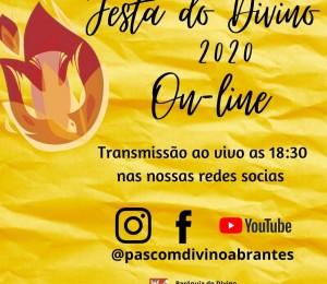 Festejos online : Paróquia do Divino Espírito Santo celebra seu padroeiro