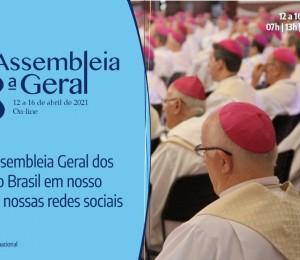 De forma online, inicia hoje a Assembleia Geral dos bispos do Brasil