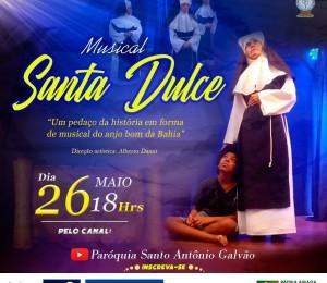 Paróquia Frei Galvão transmite musical inédito