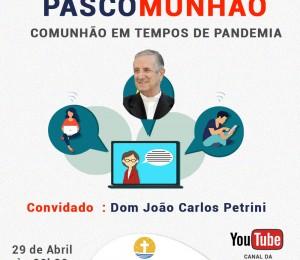Pascom promove live sobre comunhão em tempos de pandemia nesta quinta-feira(29)