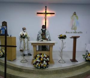 Capela dedicada a Cristo Rei foi inaugurada em Simões Filho