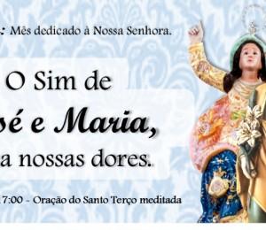 Paróquia Nossa Senhora da Boa Viagem realiza mês com Maria