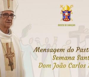 Semana Santa : Dom João Carlos Petrini envia mensagem de gratidão  ao povo de Deus