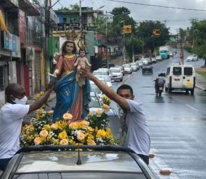 Carreata marca o anuncio dos festejos em honra a Nossa Senhora da Luz