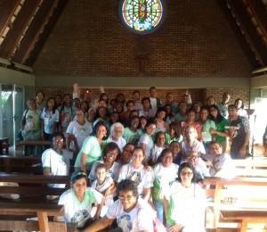 Retiro espiritual marcou a abertura das atividades diocesana da Pastoral da Criança