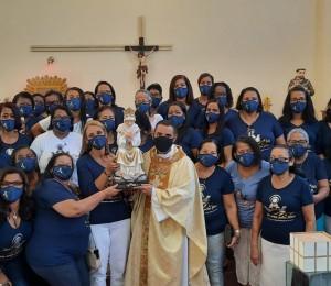 Movimento das Mães que Oram pelos Filhos celebrou dois anos de implantação na Paróquia São Francisco em Candeias