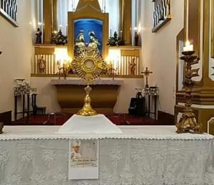 Paróquia Sagrada Família realizou momento de adoração pelo clero da Diocese de Camaçari