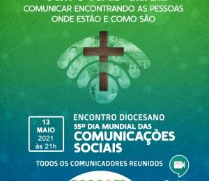 Comunicadores Católicos da Diocese de Camaçari se reúnem hoje (13/05) para celebrar o Dia Mundial das Comunicações
