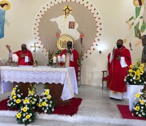 Duas celebrações marcaram o encerramento dos festejos a São João Batista em Ilha de São João