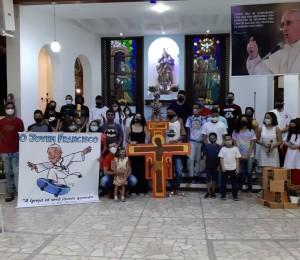 Louvor e alegria marcaram a Missa da juventude na Paróquia Nossa Senhora da Conceição do Cia