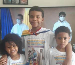 Infância e Adolescência Missionária celebraram a 9ª Jornada Nacional