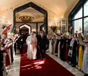 Inicia a Viagem Apostólica do Papa Francisco ao Iraque