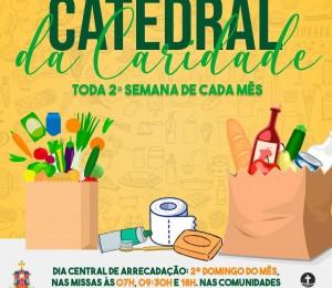 Inicia neste domingo (09) a  Semana Caritativa na Paróquia Catedral São Thomaz de Cantuária