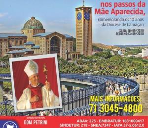 Diocese de Camaçari realiza Peregrinação ao Santuário Nacional de Nossa Senhora Aparecida