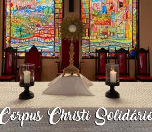 Diocese de Camaçari realiza Corpus Christi Solidário nesta quinta-feira (11/06)