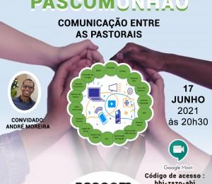 Comunicação entre as pastorais será o tema do Pascomunhão desta quinta-feira (17/06)