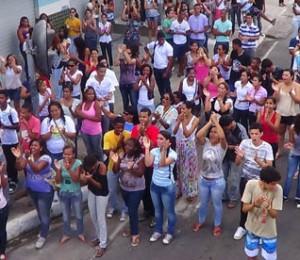 Em Camaçari, evento reúne jovens para dar largada à JMJ Rio 2013