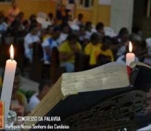 Paróquia Nossa Senhora das Candeias realiza 1º Congresso da Palavra de Deus