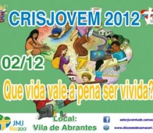 2º Crisjovem Diocesano acontece neste domingo (02/12)