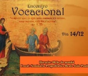Encontro Vocacional acontece neste sábado (14/12)