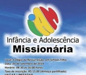 Diocese realiza o Encontro Diocesano de Formação em Infância Missionária, em Simões Filho