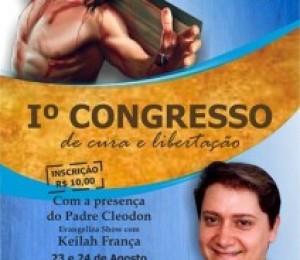 Santa Missa será celebrada hoje (22) na abertura do I Congresso de Cura e Libertação