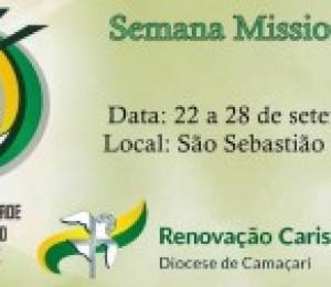 Renovação Carismática Católica realiza Semana Missionária em São Sebastião do Passé
