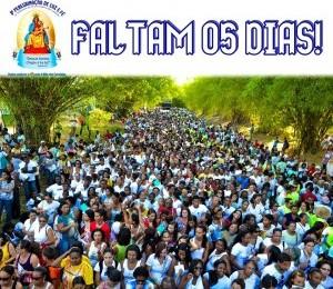 Expectativas dos fieis para a 3ª peregrinação ao Santuário de Nossa Senhora das Candeias