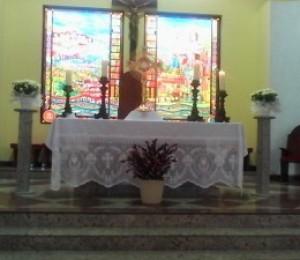 Paróquia SãoThomaz de Cantuária celebra hoje (13/11) o aniversário de 48 anos de criação
