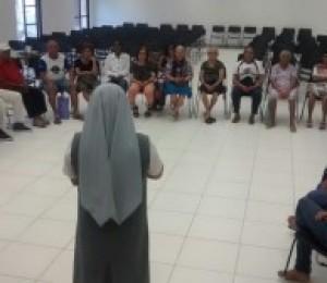 Projeto Arte de Viver retornou suas atividades nesta segunda (03/08)