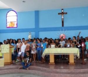 Paróquia Nossa Senhora da Luz realizou Encontro de Jovens com Cristo