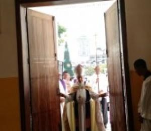 Ano da Misericórdia : Porta Santa é aberta em Camaçari