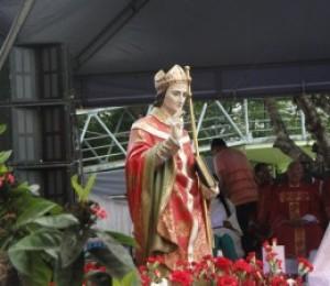 São Thomaz de Cantuária é festejado em Camaçari