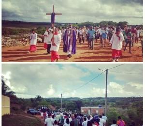 Fiéis participam de Caminhada penitencial em Arembepe