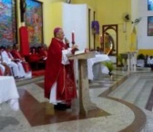 Diocese de Camaçari celebra domingo de Ramos