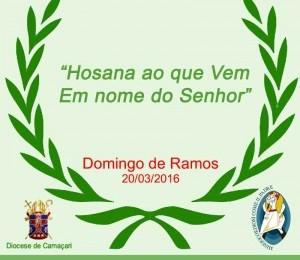 Confira a Programação de Domingo de Ramos nas Paróquias