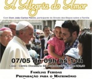 Diocese de Camaçari promove aprofundamento sobre a nova exortação do Papa sobre a família