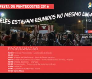 Pentecostes :  Paróquia São João Batista celebra o Espírito Santo