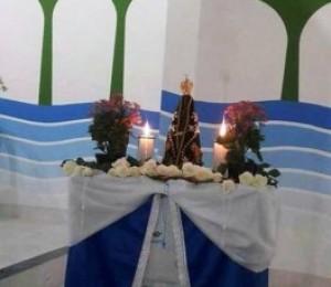 Igreja de Nossa Senhora Aparecida será consagrada durante visita da imagem peregrina